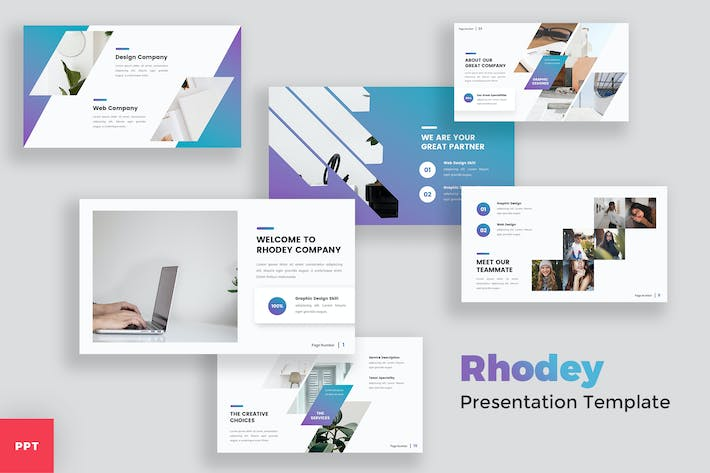 Creative Modern PowerPoint Template
