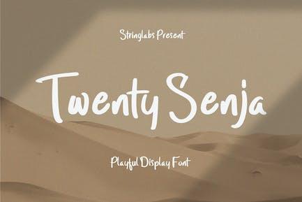 Twenty Senja - Fuente juguetona