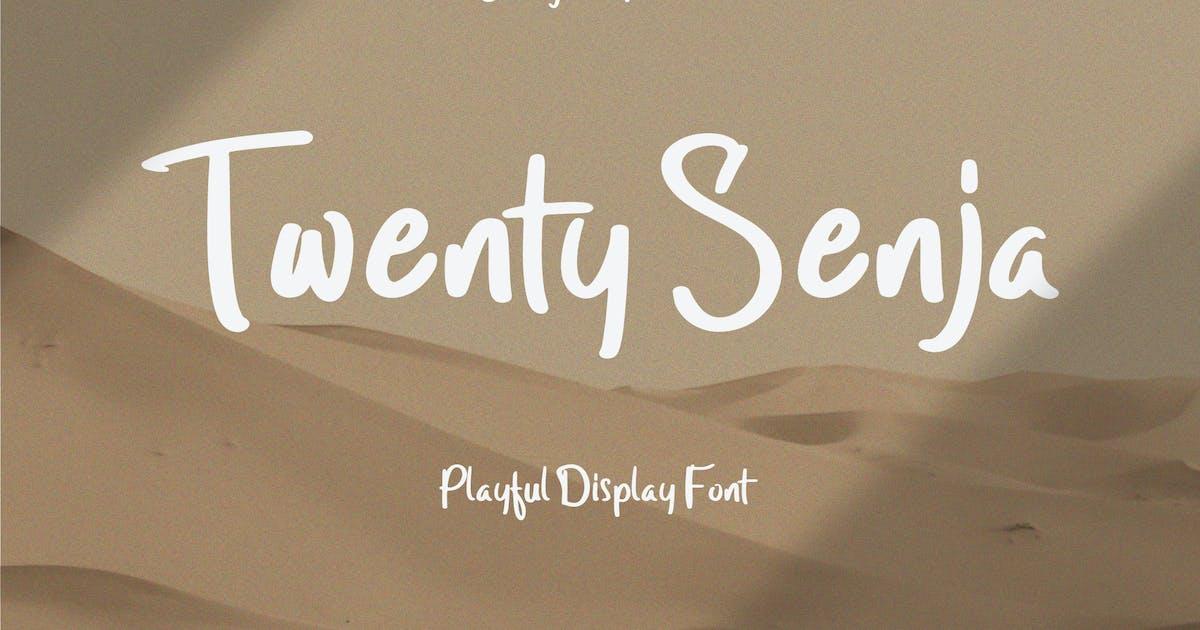 Download Twenty Senja - Playful Font by StringLabs