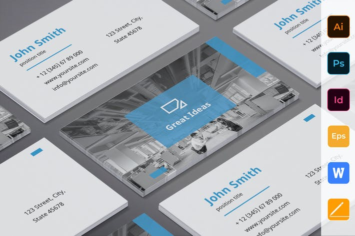 Thumbnail for Marketing Firm Business Card