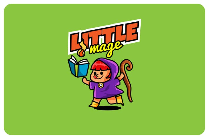 Thumbnail for little mage - Mascot & Esport Logo
