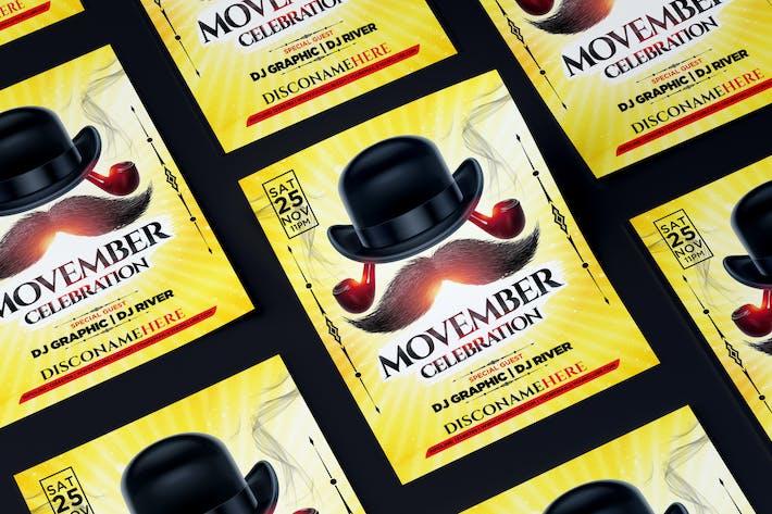 Thumbnail for Movember Celebration Flyer