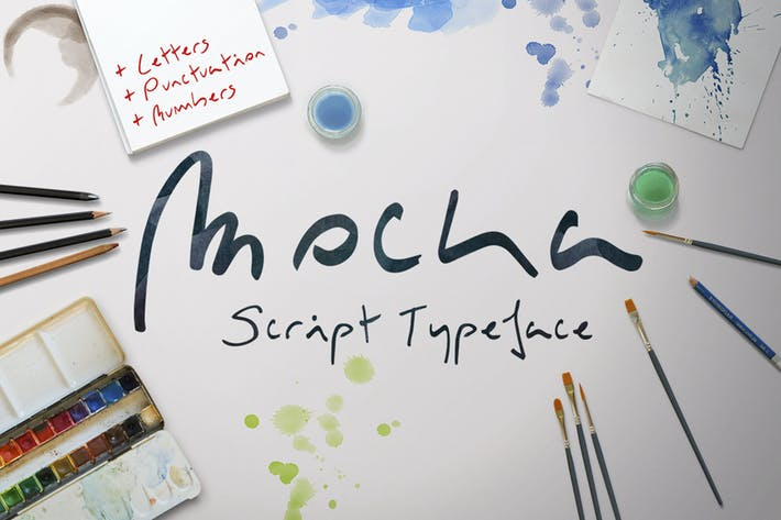Thumbnail for Mocka Typeface
