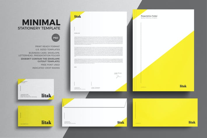 download 673 stationery templates envato elements