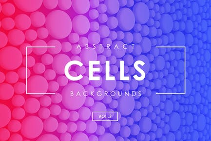 Zellen Abstrakte Hintergründe Vol.2