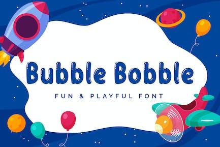 Bubble Bobble - Font ludique