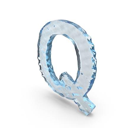 Водная буква Q