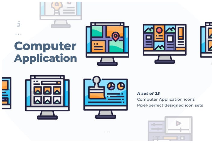 Thumbnail for 25 Computer Application Icon
