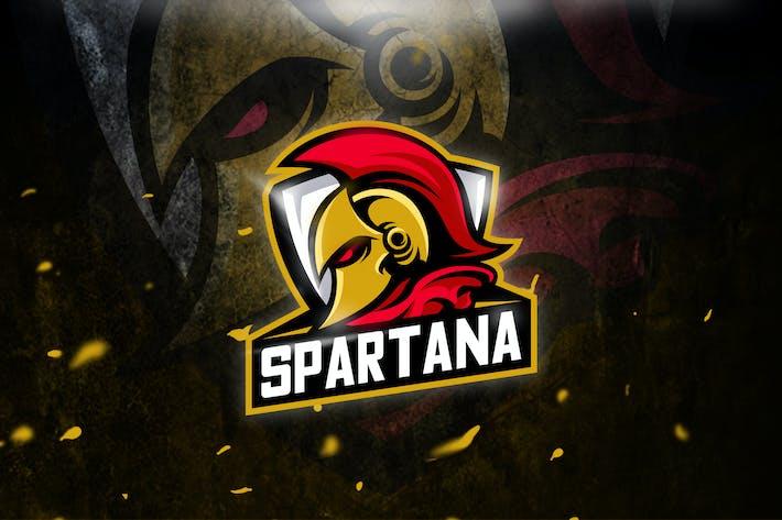 Thumbnail for Spartan - Mascot & Esport logo
