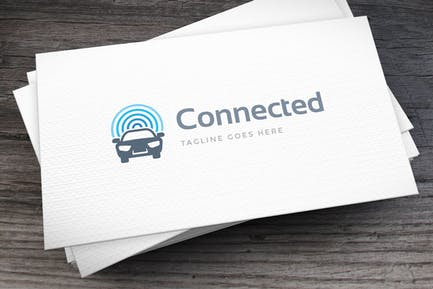 Connected Logo Template