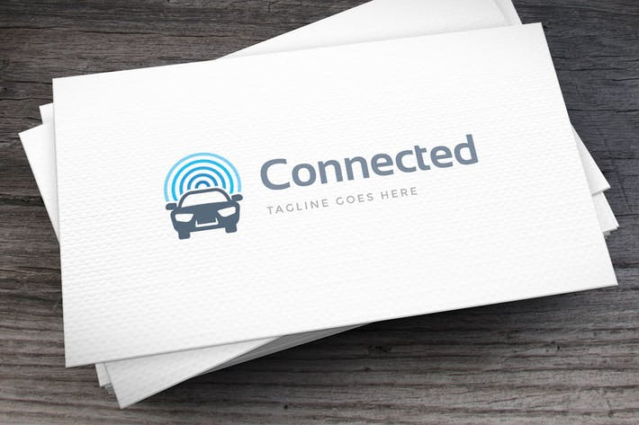 Thumbnail for Connected Logo Template