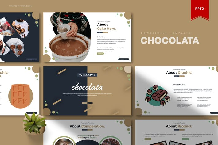 Thumbnail for Chocolata | Powerpoint Template