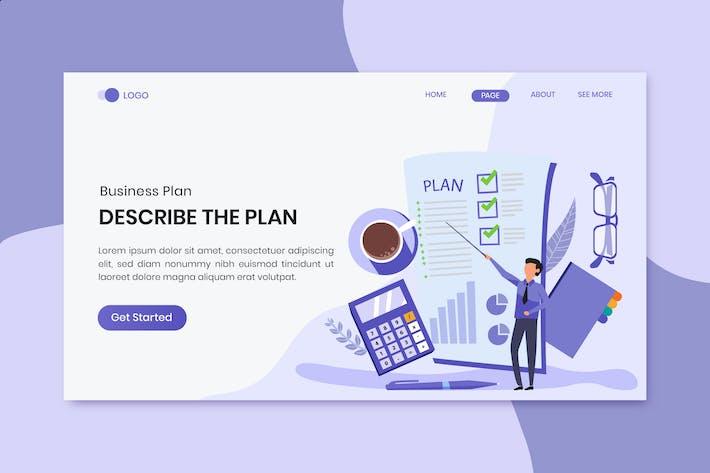 Thumbnail for Business Plan  Marketing Landing Page