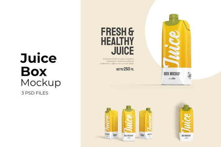 Thumbnail for Juice Box - Mockup