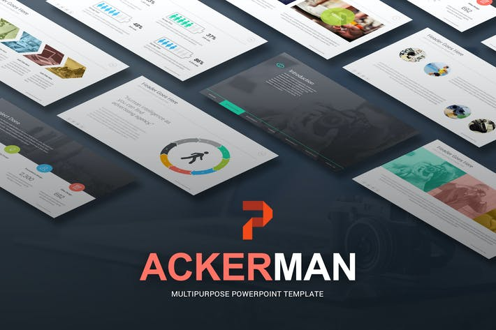 Thumbnail for Ackerman - Multipurpose Powerpoint Template