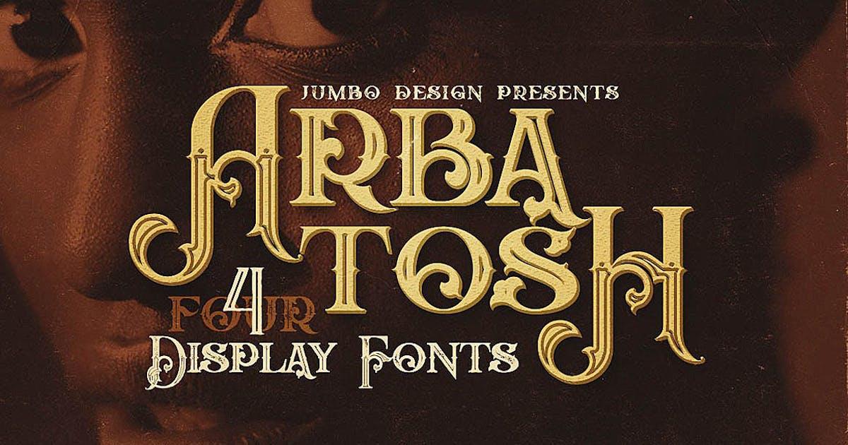 Download Arbatosh - Display Font by cruzine