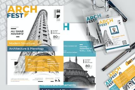 Modern Architecture Seminar - Seminar Invitation