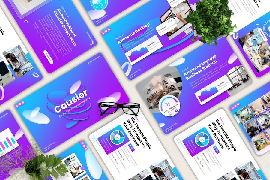 Causier - Corporate Keynote Templates