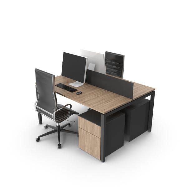 Два Письменный Стол