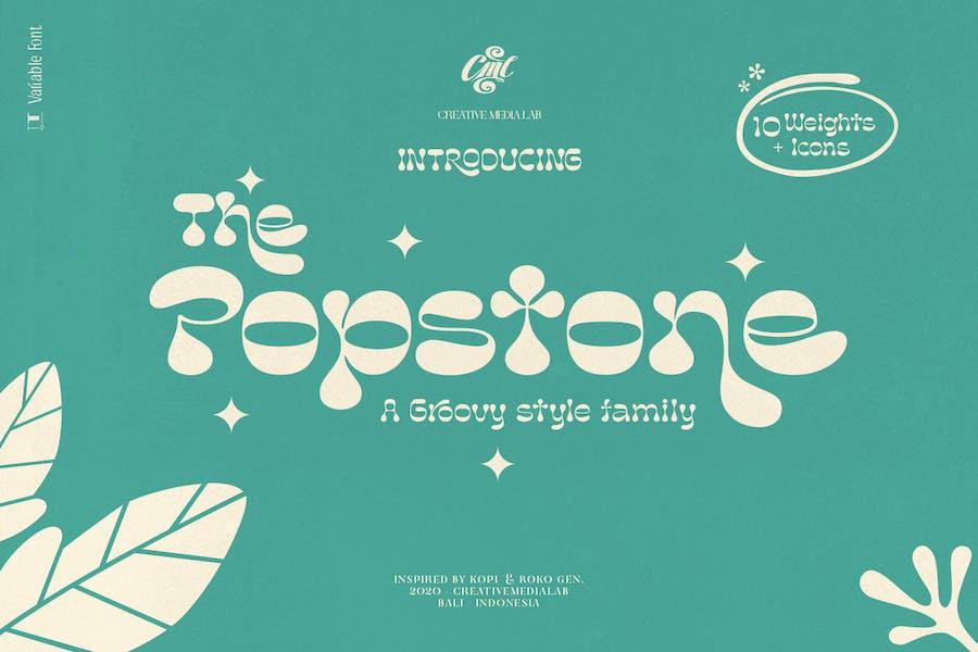 Popstone - Groovy Family + Variable
