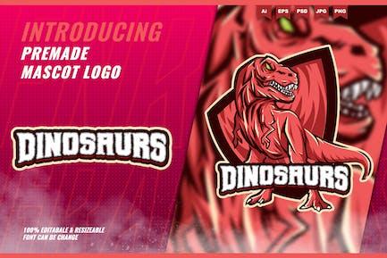 Mad Trex Raptors - Mascot Esport Logo Template