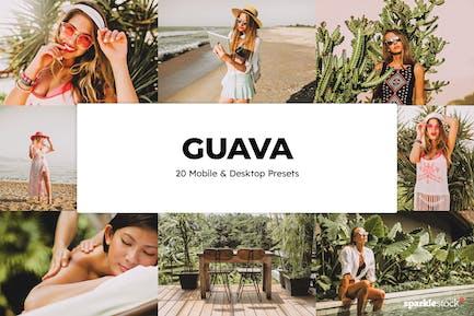 20 Guava Lightroom Presets & LUTs