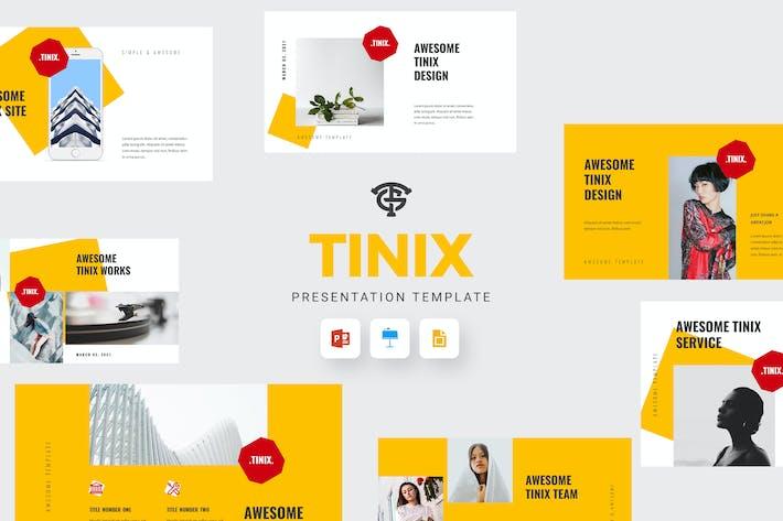 Thumbnail for Tinix - Минимальный Шаблон презентации