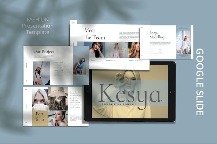 Thumbnail for KESYA- Мода Google Слайд Шаблон