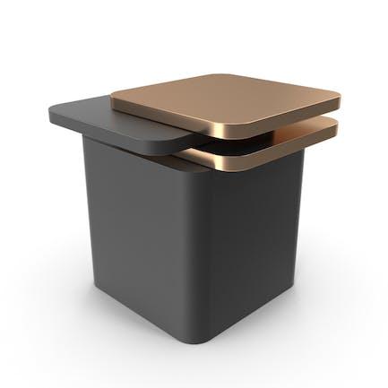 Black and Gold Product Podium Showcase