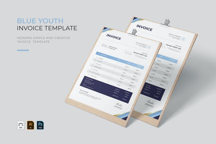 Blue Youth | Invoice
