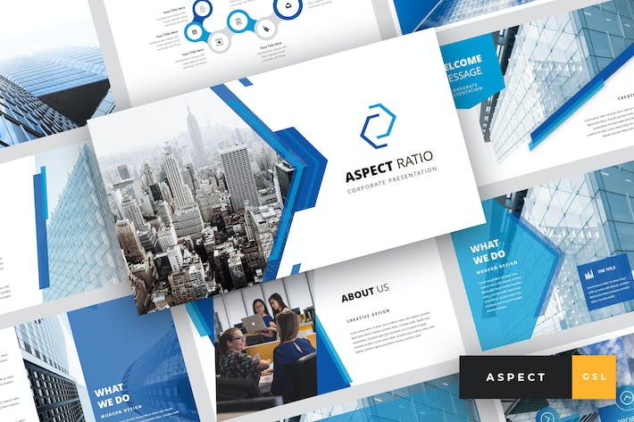 Thumbnail for Aspect - Corporate Keynote Template