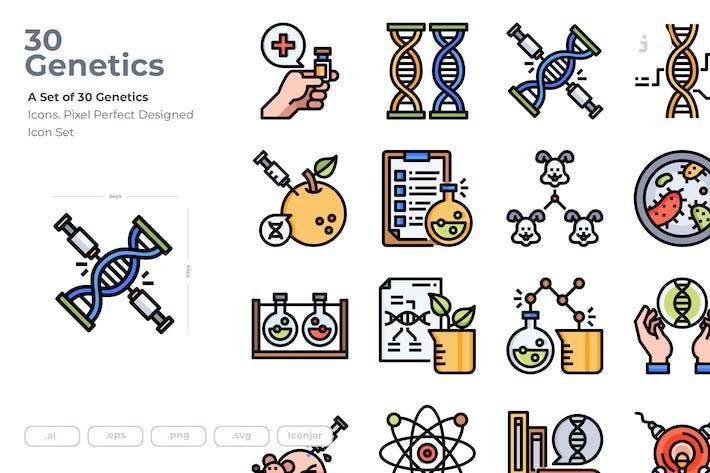 Thumbnail for 30 GenetikIcons
