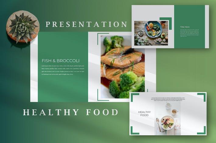 Healthy Food - Creative Keynote Template
