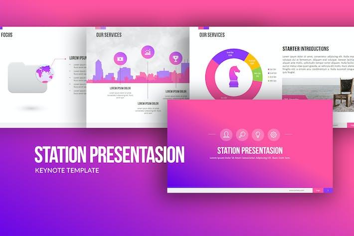 Thumbnail for Station Keynote Templates