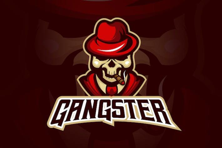 Thumbnail for Evil Gangster Boss Esport Logo
