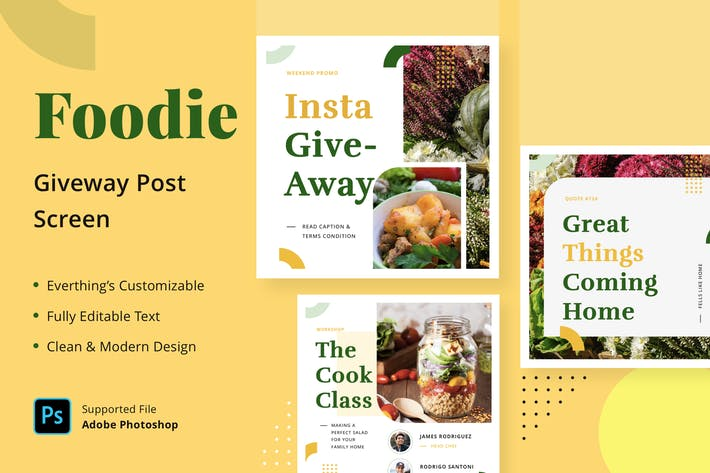 Foodie Giveaway - Feed Post