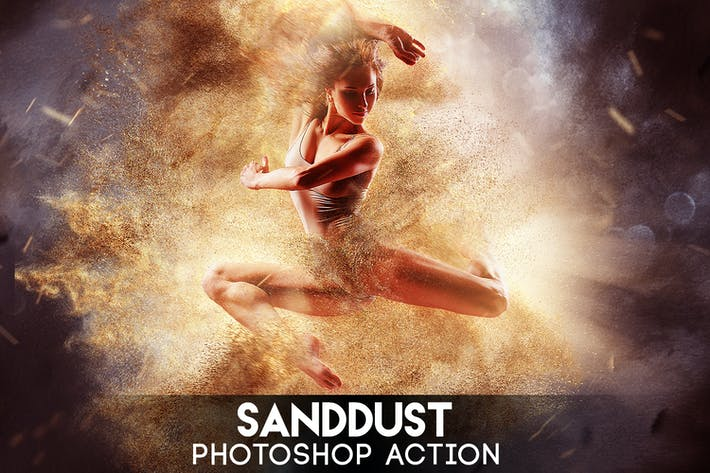 Thumbnail for SandDust Photoshop Action