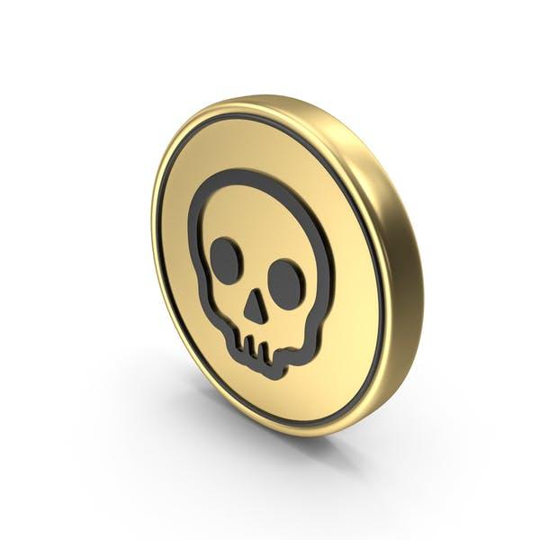 Значок Логотип «Опасность монет