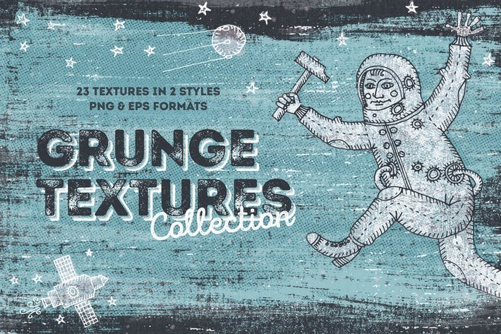 Cover Image For Blackview Grunge Textures Collection