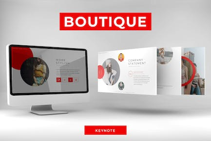 Boutique - Keynote Template