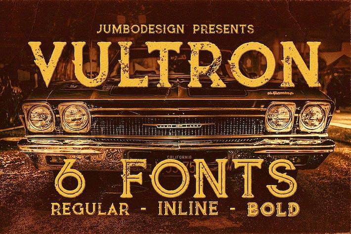 Thumbnail for Vultron - Fuente de estilo vintage
