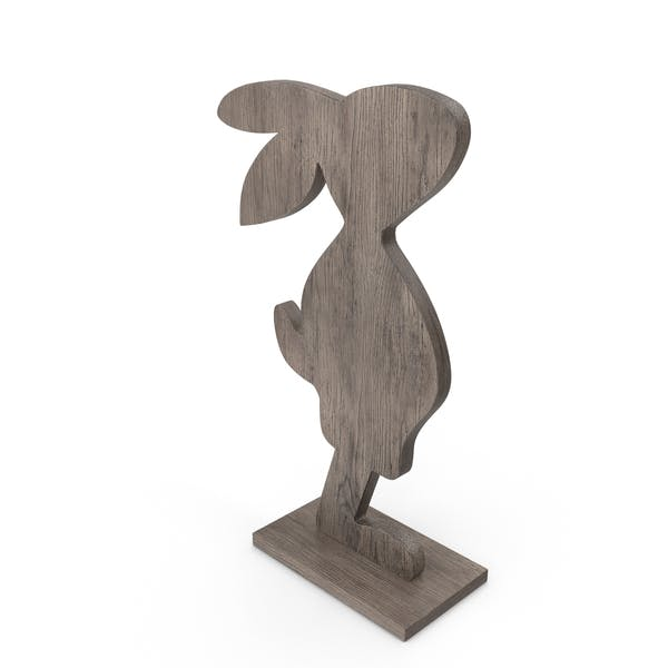 Thumbnail for Wood Easter Rabbit Decoration
