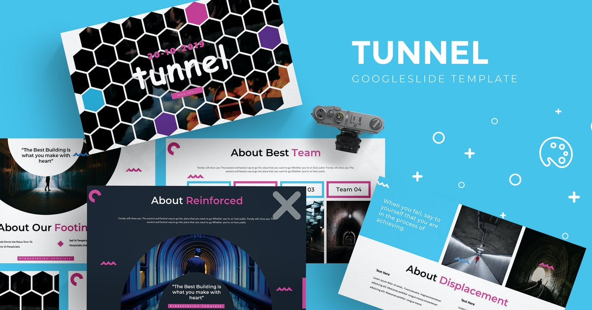 Download Tunnel - Google Slides Template by aqrstudio
