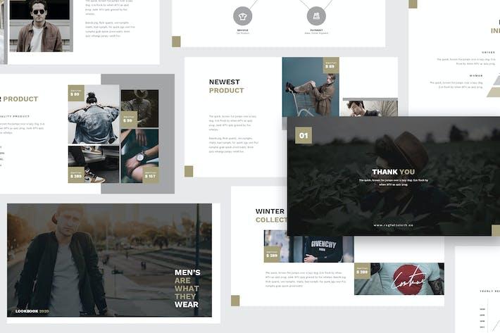 Thumbnail for Man Fashion Google Slides Template