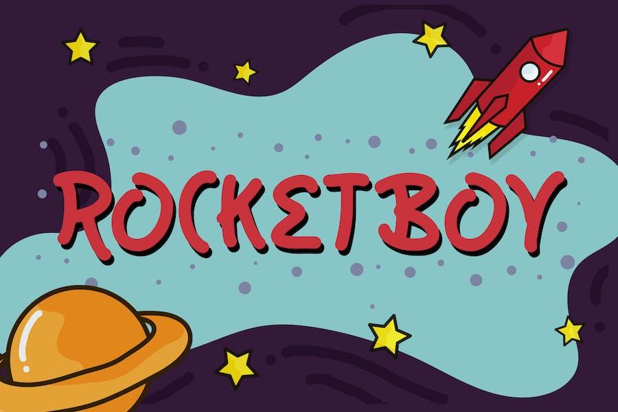 Rocketboy - Fun Children Typeface