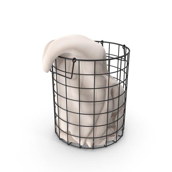 Thumbnail for Mesh Laundry Basket
