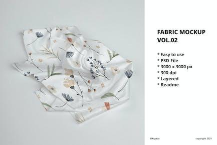 Fabric Mockup Vol.02