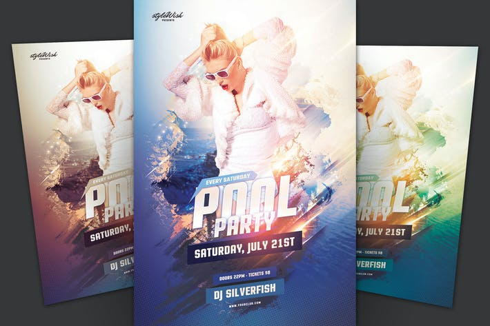 Thumbnail for Pool Party Flyer