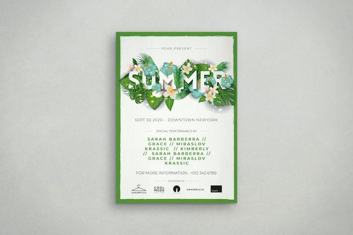 Thumbnail for Summer Flyer