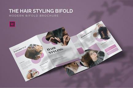 Hair Styling - Bifold Brochure